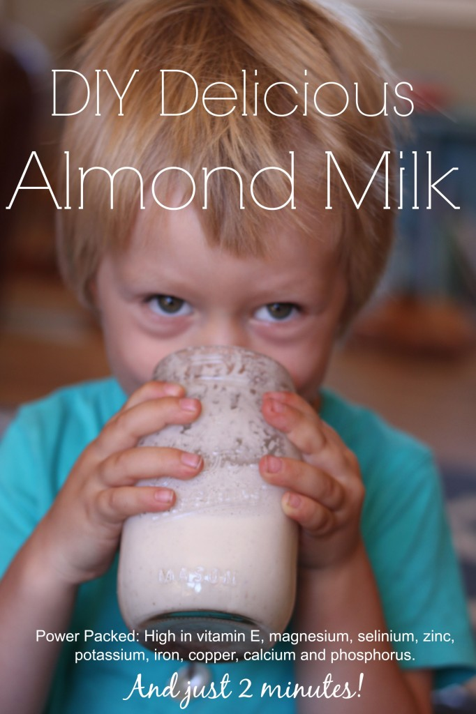 you'll this almond milk