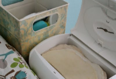 cloth wipes solution - ready to wipe